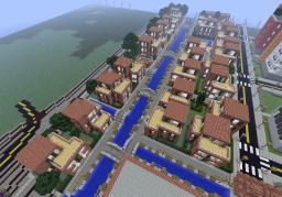 "Housing Estate ""Lister Blick"" Minecraft Map & Project"