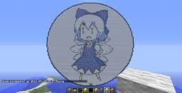 Big cirno Minecraft Map & Project