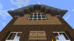 2 Chickens 1 House Re-Creation Minecraft Project