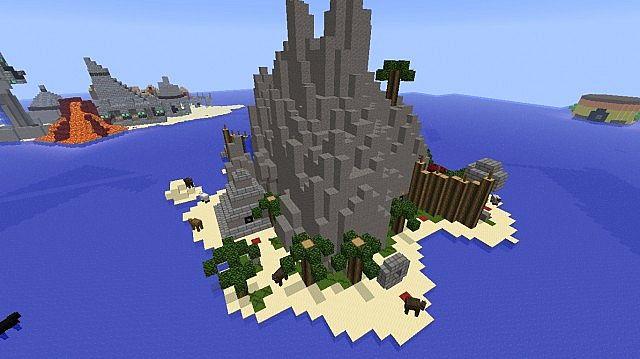 minecraft crash bandicoot map