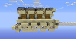 Fancy Hidden Storage System Minecraft Map & Project