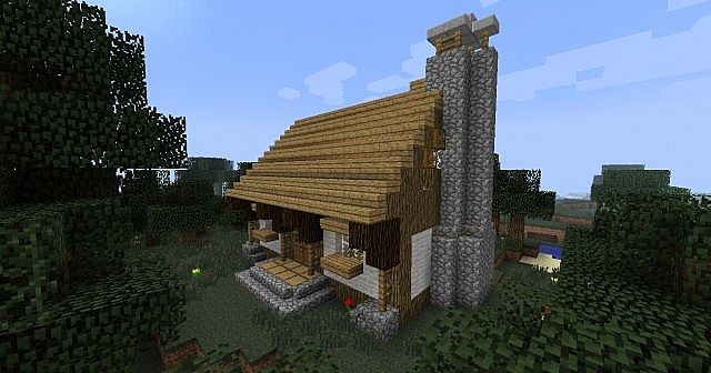 witches hut minecraft map