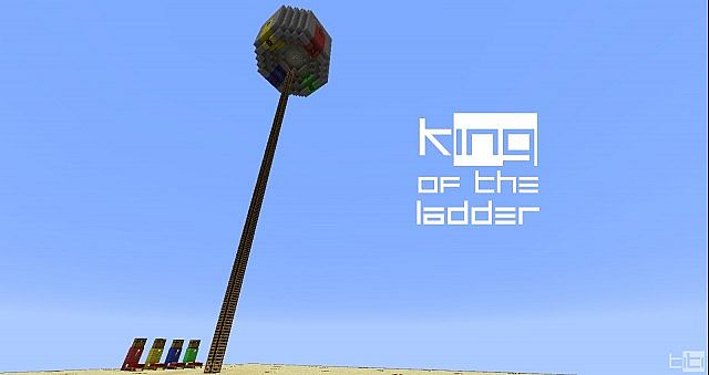 King of the Ladder (redstone powered)