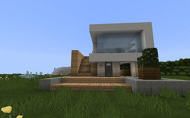 EcCo Modern House (Blue Glass) - 33.3KB