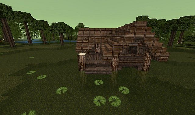 Planet Minecraft Swamp House