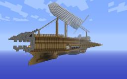 The Kestrel Airship Minecraft