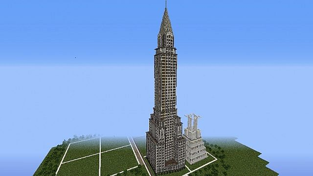 Chrysler Building Exterior 95 Done Interior Wip