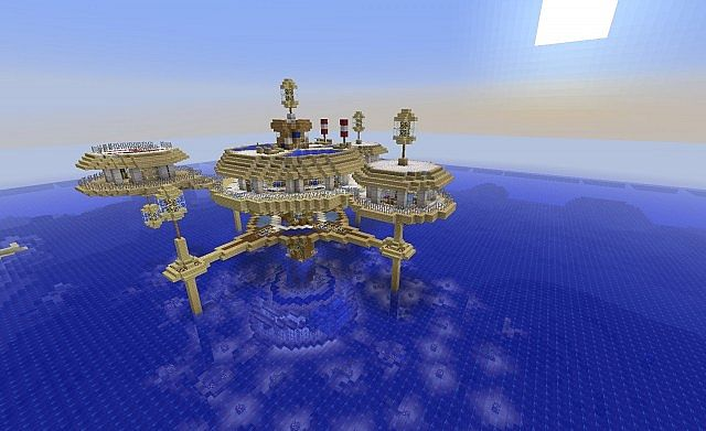 Water Discus Hotel Minecraft Project