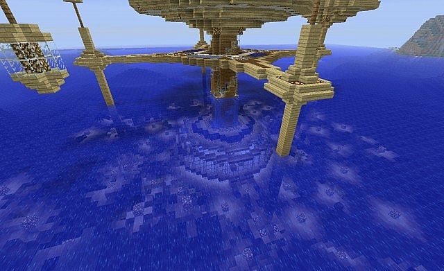 Water Discus Hotel v2 Minecraft Project