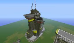 Halo: UNSC Airpad Minecraft Map & Project
