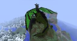 A Dragon Minecraft Map & Project