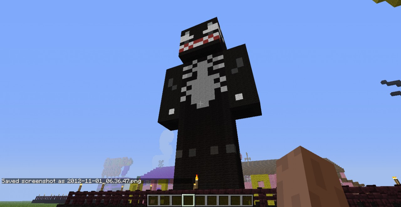 Minecraft Build Black And Whitev