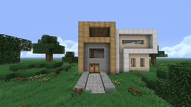 Modern Studio House- GnubHunter inspired Minecraft Project