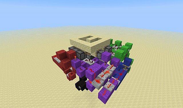 Half Slab Hiden Spiral Staircase Minecraft Project