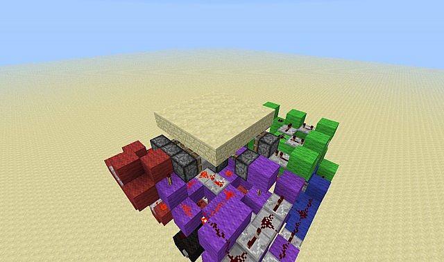 Minecraft Compact Storage Room Design