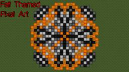 Fall Themed Pixel Art [Download] Minecraft Map & Project