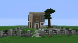 Ultramodern house Minecraft Map & Project