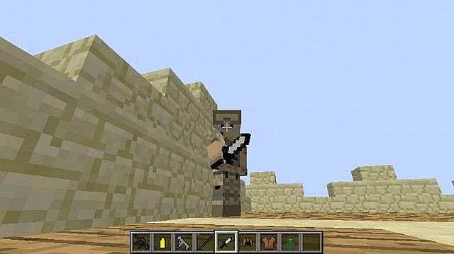 This is the iron sword which I have changed to look like a dagger