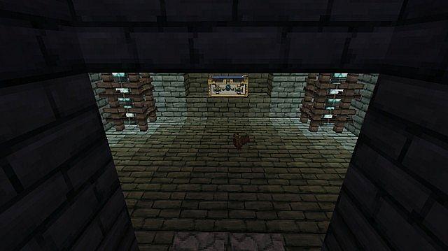 Redstone hidden room Minecraft Project