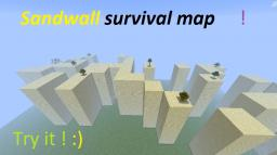 Minecraft : SandWall survival map Minecraft Map & Project