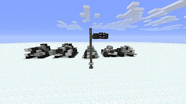 Wwii Mini Tanks Germany Minecraft Project