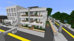 Modern Apartment Building - On Greenfield Minecraft