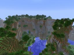 [Custom Terrain] Mountain Wonderland Minecraft Map & Project