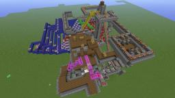 Minecart Train Station Minecraft Project