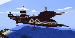 Imperial Hammershark BattleCruiser Minecraft Project