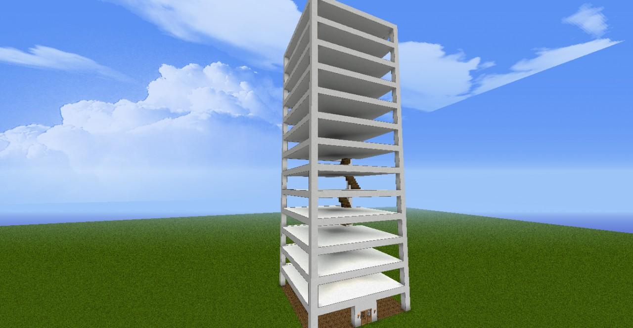 Hochhaus minecraft project - Minecraft hochhaus ...
