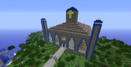 Magical spawn church Minecraft Map & Project