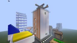 Mirror's edge inspired town Minecraft Map & Project