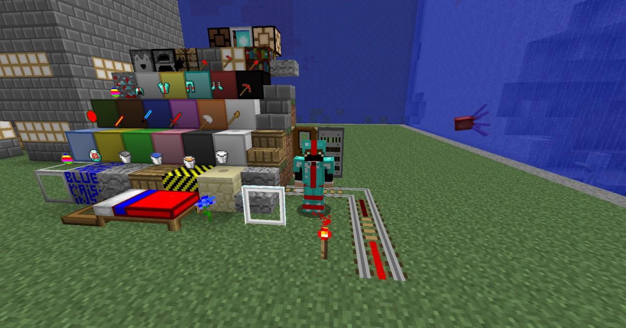 aqua's Custom TexturePack Minecraft Texture Pack