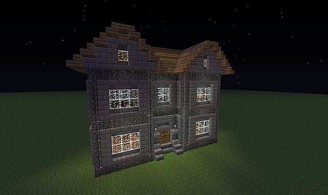 Stone House Minecraft Map