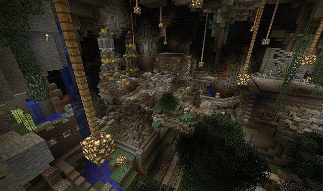 Minecraft Underground Dwarf City
