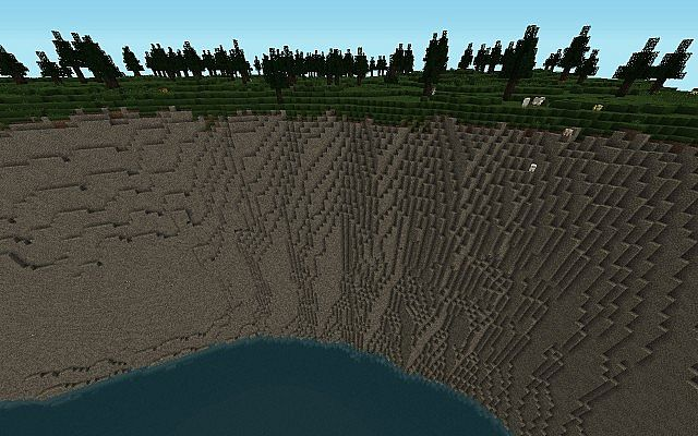 Minecraft cliff map images diagram writing sample ideas and guide sea cliffs minecraft project freerunsca images sciox Image collections