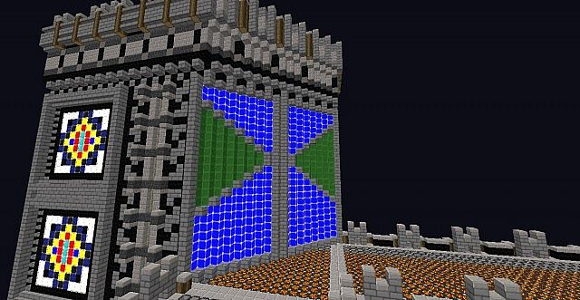 The Top Of The Spawn walls