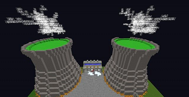The front of the spawn city powerplant