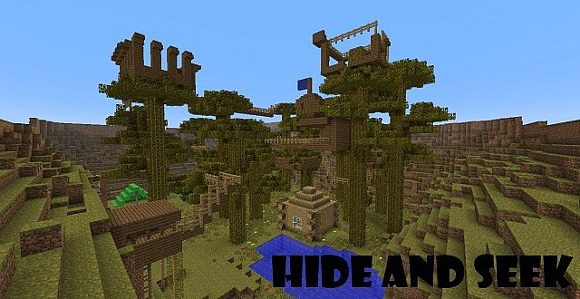 Скачать Карту для Майнкрафт Hide And Seek