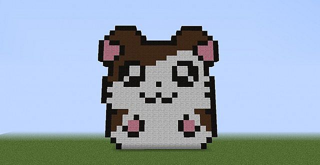 cute hamster minecraft project