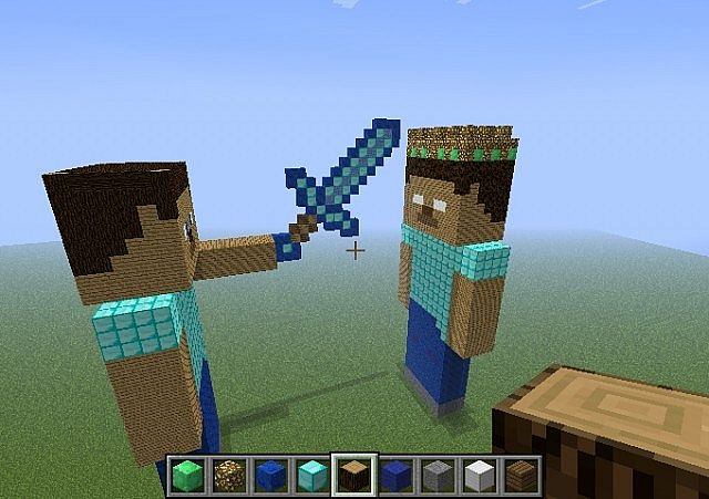 Minecraft Herobrine Vs Steve Wallpaper Steve vs herobrine