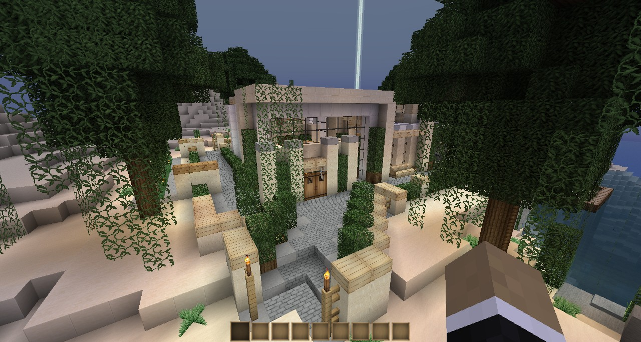 Keralis Modern House 4 Furnished Minecraft Project