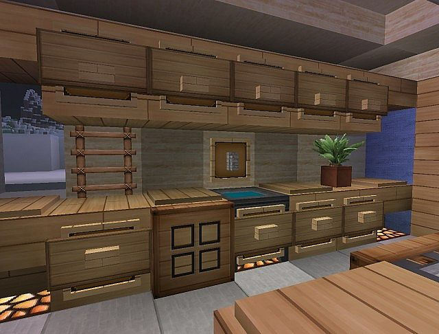 1 4 2 new interior design concept minecraft project - Minecraft home decor photos ...