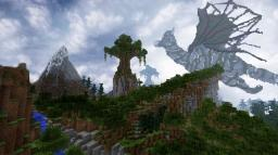 Dragons land Minecraft Map & Project