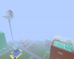 Redstone City WIP Minecraft Map & Project