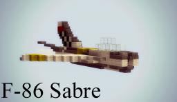 F-86 Sabre Minecraft Map & Project