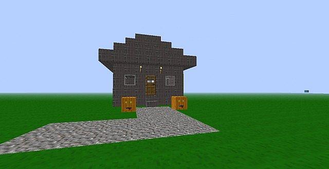 A cobblestone house