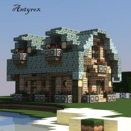 Warriors Cabin Minecraft Map & Project