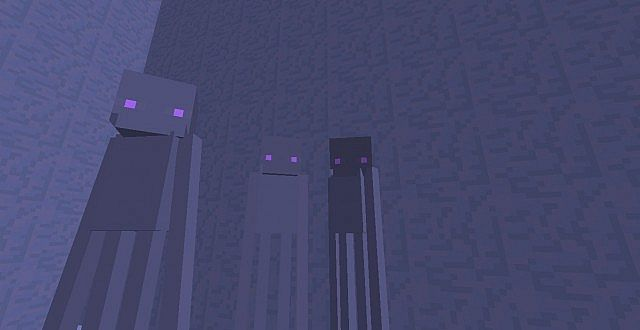 Epic new Endermen Ghosts!