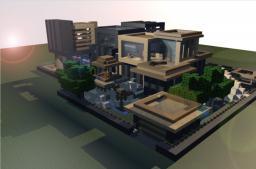 Modern House Minecraft